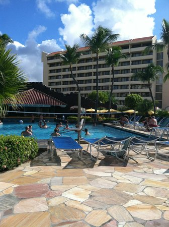Hyatt Regency Aruba Resort and Casino:                   Volleyball.