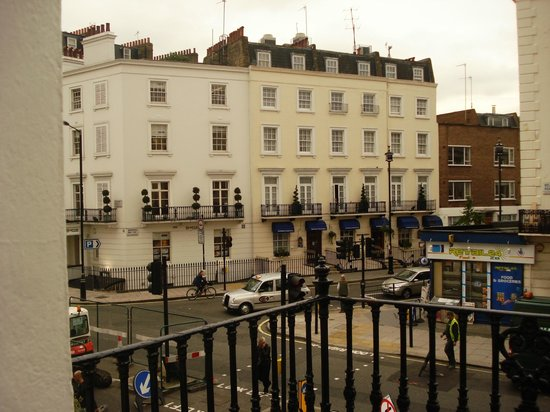 Stanley House: Vista desde el balcon