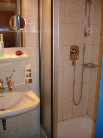 Hotel Gasthof Zur Post: shower