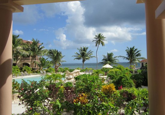 Coco Beach Resort:                   View from patio