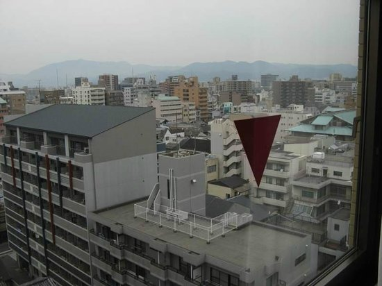 Aranvert Hotel Kyoto: Kyoto from the room
