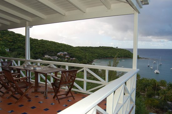 Blue Moon Antigua: View from terrace at Blue Moon villa