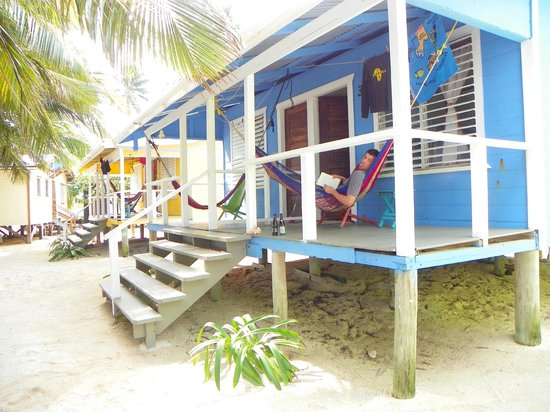 Tobacco Caye Lodge:                   Great hammock for reading and napping!