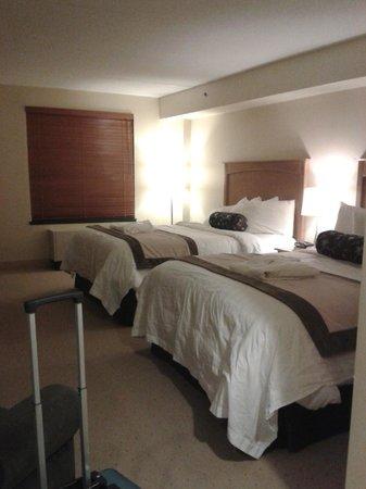 Temple Gardens Hotel & Spa: Superior Queen - spacious
