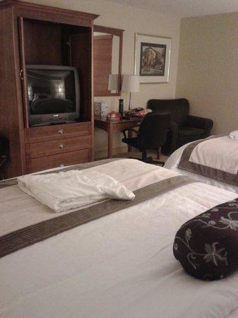Temple Gardens Hotel & Spa: Superior Queen