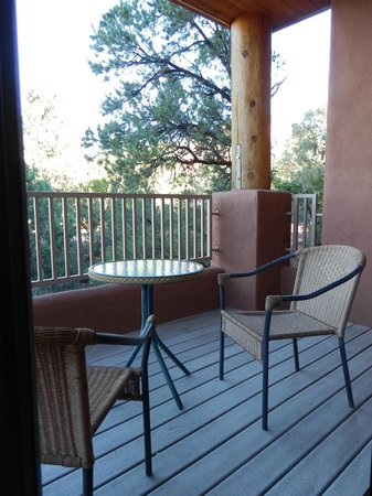 Alma de Sedona Inn Bed & Breakfast: Athena balcony