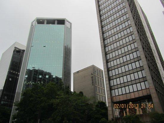 L'Hotel Porto Bay Sao Paulo: Außenansicht von der Avenida Paulista aus