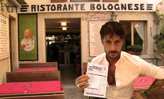 Ristorante Bolognese : Anche lui sa dove andare!