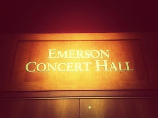 Emory University: performing arts