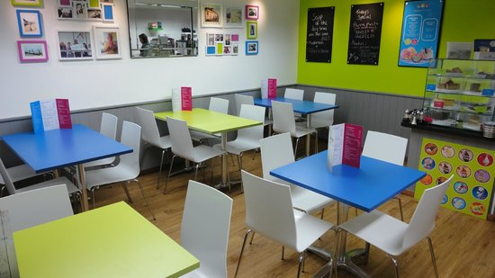 The Beach Hut Cafe : Inside our cafe