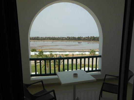 Vincci Helios Beach: terrasse