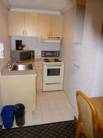 BEST WESTERN PLUS Carlton Plaza Hotel: My room had a small kitchenette.