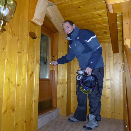 Chalet Brigitta: Little door into top room