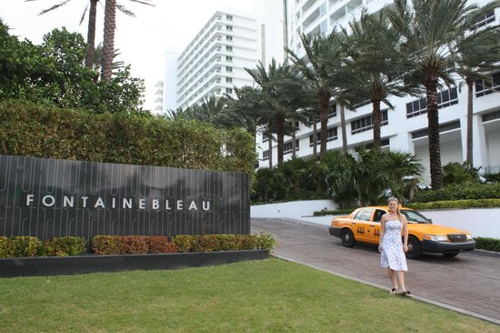 Fontainebleau Miami Beach: entrada
