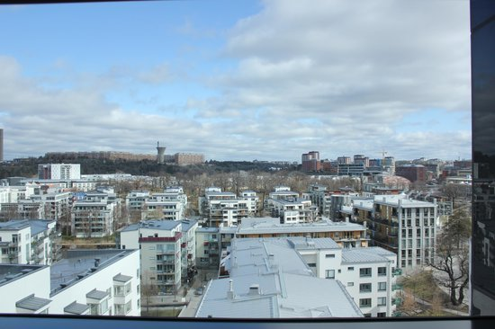 Park Inn by Radisson Stockholm Hammarby Sjostad: View from the room