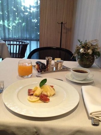 Las Alcobas Mexico DF: continental breakfast