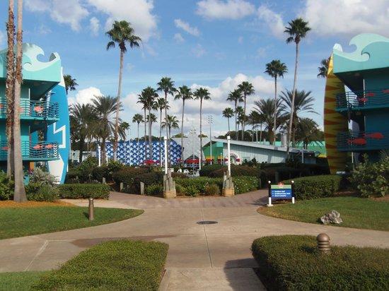 Disney's All-Star Sports Resort:                   Grounds
