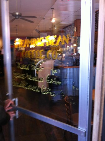 Front door entrance picture of steaming bean coffee co for Door 55 reviews