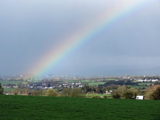 Beautiful Meath Tours: A Spectacular Rainbow over The Hill of Tara in CO.MEATH..