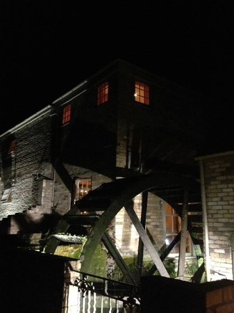 The Brampton Mill:                                     Night view of the mill