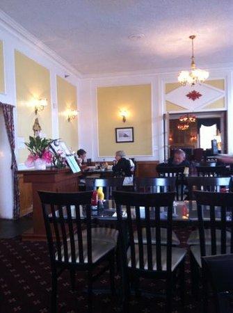 Boulder Dam Hotel Restaurant : dining room