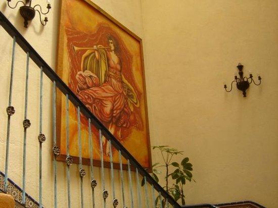 El Meson de los Poetas: Escaleras