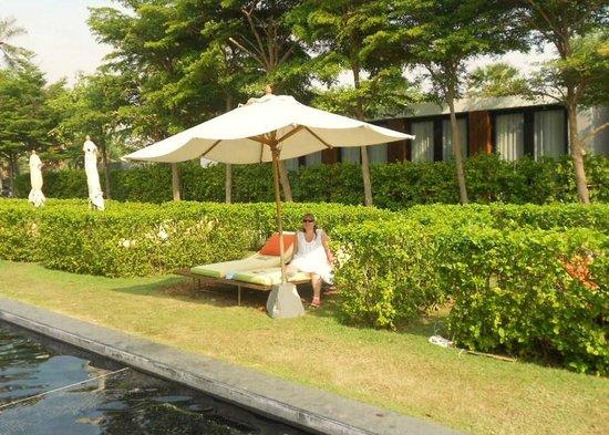 查安海灘和平酒店照片