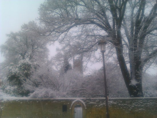 The Kings Hotel Chipping Campden:                   Winter Wonderland