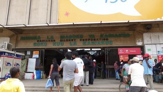 Kariakoo Market:                   Kariakoo