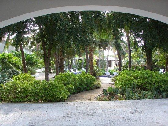 Floris Suite Hotel - Spa & Beach Club:                   porch off of room