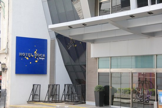 Hotel Boca by Design Suites: Main entrance