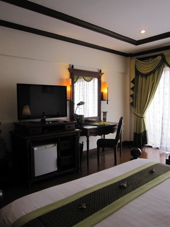 The Privilege Floor by BOREI ANGKOR : notre chambre