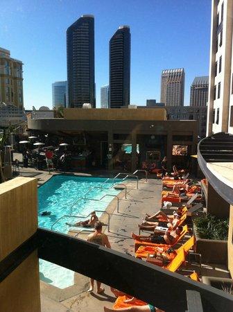 Kimpton Solamar Hotel:                   rooftop pool area                 