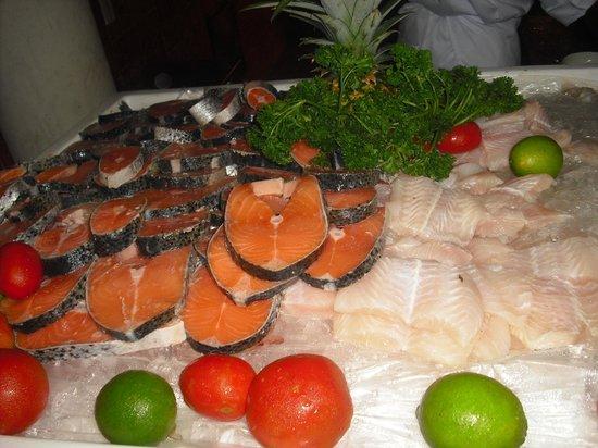 Iberostar Costa Dorada:                   täglich frischer Fisch