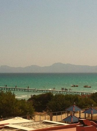 TUI FAMILY LIFE Alcudia Pins:                   view from our apartment