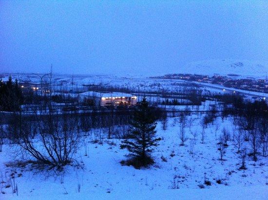 هوتل لاكسنيز:                   Arrival view - early evening late Dec                 