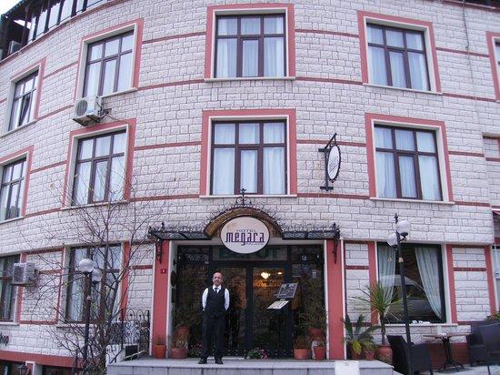 Megara Palace Hotel: ingresso
