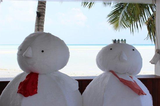 Cinnamon Hakuraa Huraa Maldives:                   Christmas Maldives style