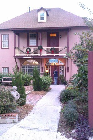Casa de Solana Bed and Breakfast:                   Main Building/entrance