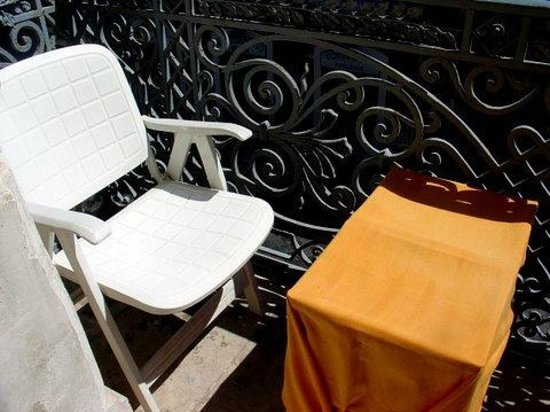 San Demetrio Hotel: Very Small Balcony