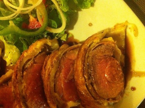 Gotim: Filet de porc amb cansalada i reducció de PX