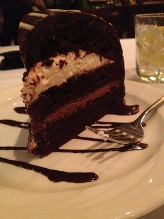 Radisson Paper Valley Hotel:                                     Tuxedo Bombe at Lombardi's