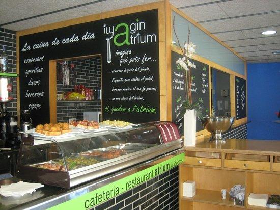 Imaginatrium - Restaurant Atrium Viladecans : Cafeteria