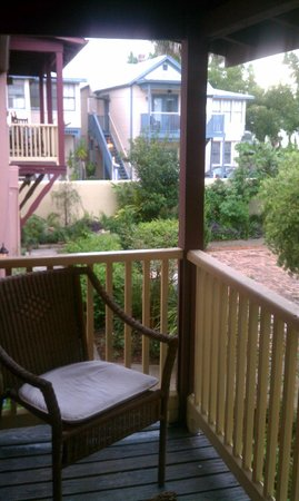 Casa de Solana Bed and Breakfast:                   Theresa Room balcony