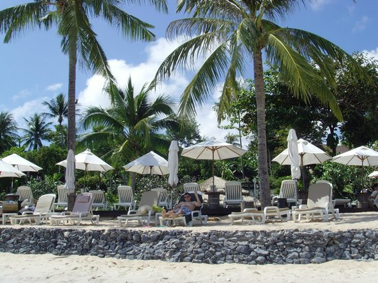 Nora Beach Resort and Spa: Beach area
