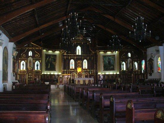 Chitre, Панама: Toma general del interior de la Catedral