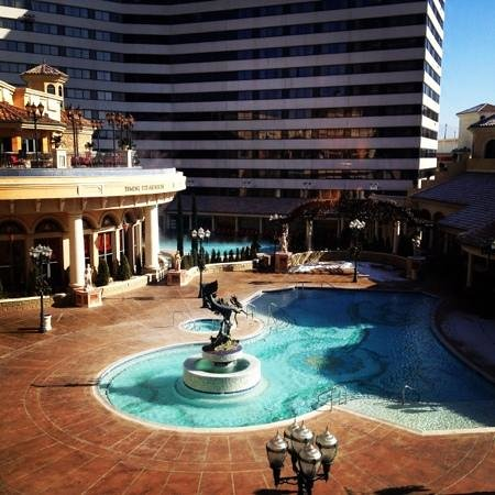 Peppermill Resort Spa Casino:                   view from our room