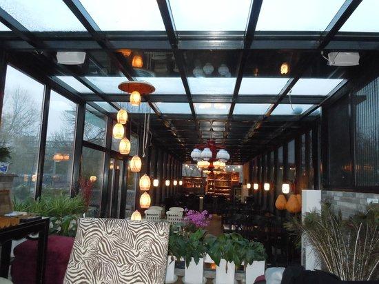 Hotel Cote Cour Beijing:                   Upstairs breakfast room