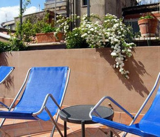 Hotel Piazza di Spagna: Terrace