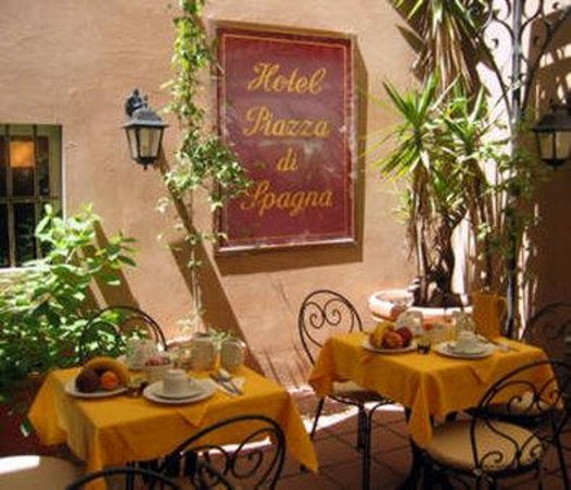Hotel Piazza di Spagna: Breakfastroom